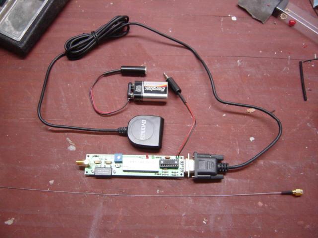 APRS GPS Tracker