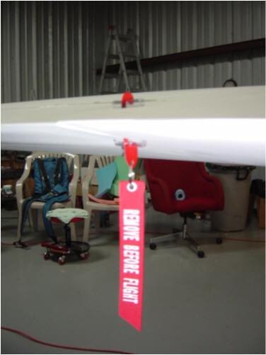 Remove Before Flight Car Key Chain FOLLOW ME OEM